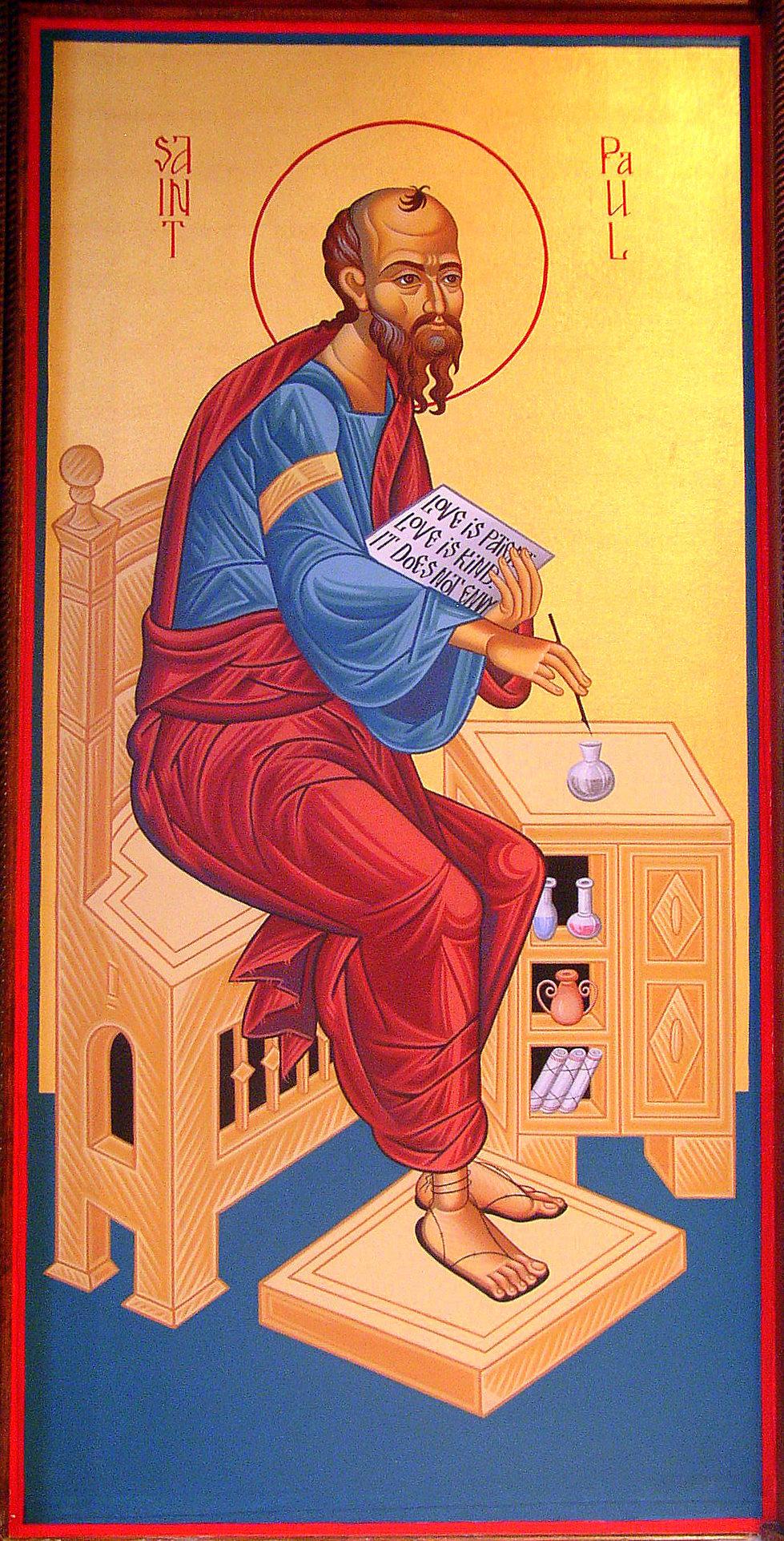 the apostle paul our patron saint st paul antiochian orthodox church