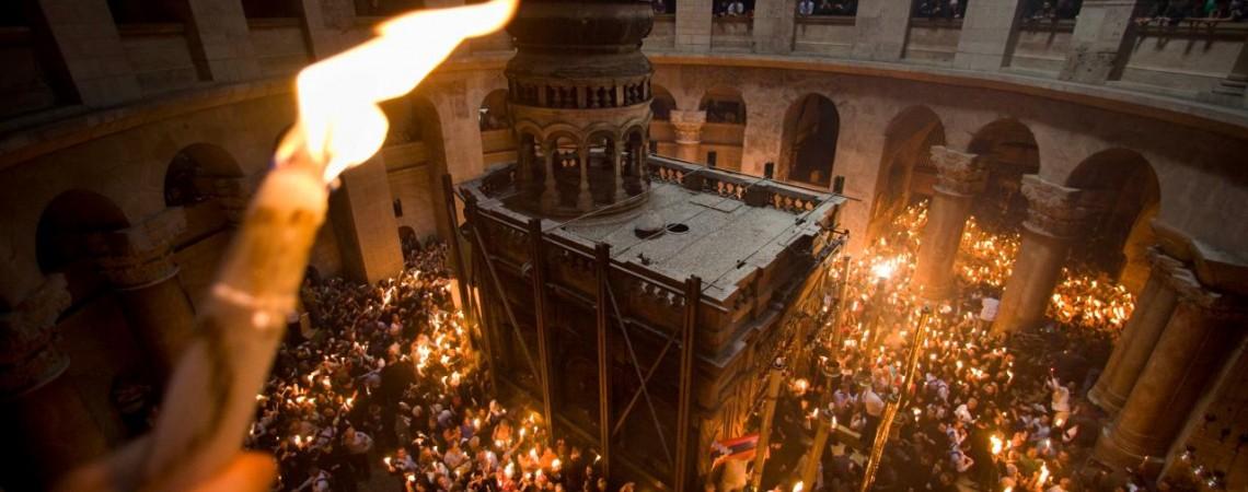 Christ is risen!  The Paschal Sermon of St. John Chrysostom