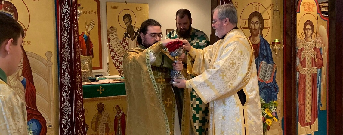 Fr. George Goodge, Son of St. Paul's, Ordained to Holy Priesthood