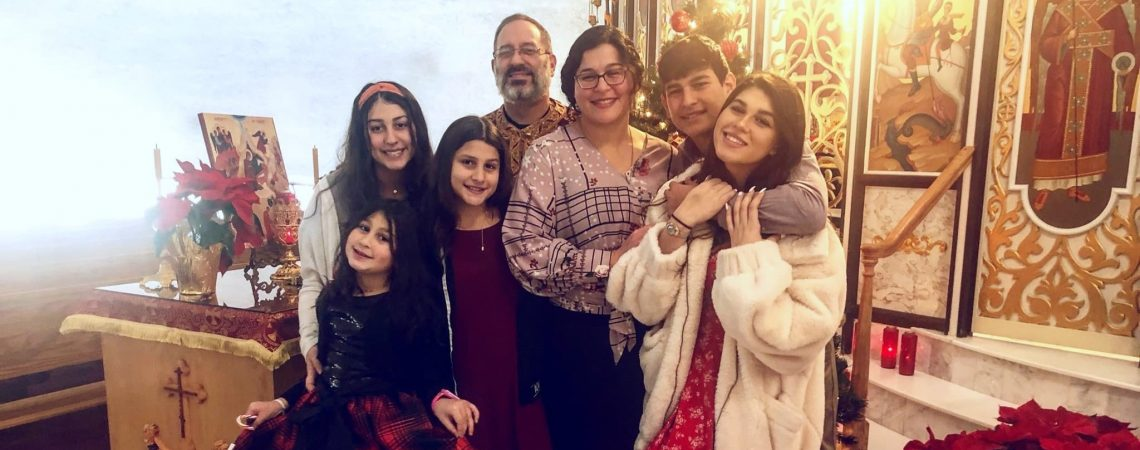 St. Paul's Welcomes Fr. Joseph Landino and Family
